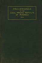 Thumbnail image of Coal Mining Institute 1922 Proceedings cover