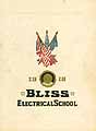 Thumbnail image of Bliss Electrical School 1918 Commencement cover