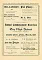 Thumbnail image of City High School 1897 Commencement cover