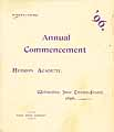 Thumbnail image of Hebron Academy 1896 Commencement cover