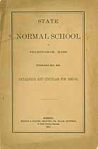 Thumbnail image of Framingham State Normal School 1890-91 Catalogue cover