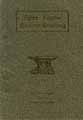 Thumbnail image of Directory of Masonic Bodies of Nome, Alaska cover