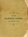 Thumbnail image of Murdock School 1893 Catalogue cover