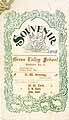 Thumbnail image of Green Valley School 1898 Souvenir cover