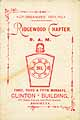 Thumbnail image of Ridgewood Chapter, R. A. M. 1890 cover