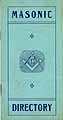 Thumbnail image of City of Flint Masonic Directory cover