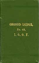 Thumbnail image of Osgood Lodge, No. 48 Members cover