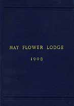 Thumbnail image of May Flower Lodge 1908 By-Laws cover