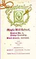 Thumbnail image of Maple Hill School 1902-03 Souvenir cover