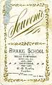 Thumbnail image of Drake School 1907-08 Souvenir cover