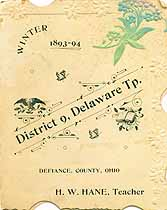 Thumbnail image of District 9 Winter 1893-94 Souvenir cover