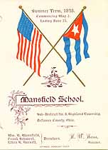 Thumbnail image of Mansfield School Summer 1898 Souvenir cover
