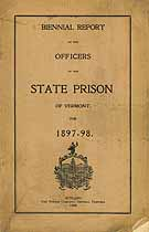 Thumbnail image of Vermont State Prison 1897-98 Biennial Report cover