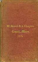 Thumbnail image of Mt. Horeb R. A. Chapter 1871 Members cover