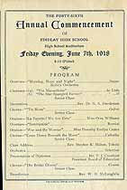 Thumbnail image of Findlay High 46th Annual Commencement cover