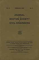 Thumbnail image of Boston Society of Civil Eng. Journal Vol. XI, No. 2 cover
