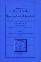 Thumbnail image of Connecticut Masonic Veterans 1896 Reunion cover