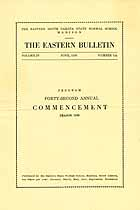 Thumbnail image of The Eastern Bulletin, Vol. IV, No. 12a cover