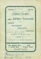 Thumbnail image of Trinity Methodist Episcopal Church Jubilee Souvenir cover