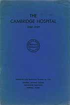 Thumbnail image of The Cambridge Hospital 1886-1929 cover