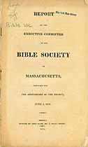 Thumbnail image of Bible Society of Mass. 1814 Members cover