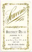 Thumbnail image of Ivanhoe District No. 11 Souvenir for 1907 cover