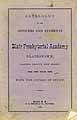 Thumbnail image of Blair Presbyterial Academy 1873 Catalogue cover