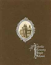 Thumbnail image of Labette County High School 1904 Catalogue cover