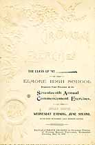 Thumbnail image of Elmore High School 1897 Commencement cover