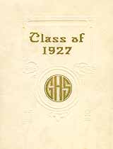 Thumbnail image of Greencastle High School 1927 Commencement cover