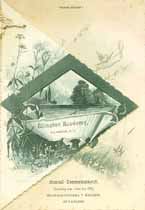 Thumbnail image of Ellington Academy 1889 Commencement cover