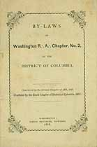 Thumbnail image of Washington R. A. Chapter, No. 2. Members cover