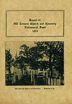 Thumbnail image of Report of Old Tennent Church and Cemetery cover