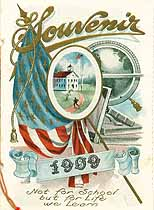 Thumbnail image of State Center School 1909 Souvenir cover