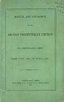 Thumbnail image of Cleveland Second Presbyterian Church 1864 Catalogue cover