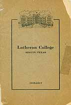 Thumbnail image of Lutheran College 1916-17 Catalogue cover