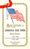 Thumbnail image of Stanchfield Ridge School 1908 Souvenir cover