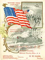 Thumbnail image of Sub-District No. 8 Souvenir for 1898-99 cover