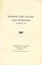 Thumbnail image of Stamford High School 1918 Graduation cover
