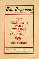 Thumbnail image of The Exponent, Vol. III, No. 2, May, 1907 cover