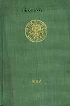 Thumbnail image of Army and Navy Club 1907 Members cover