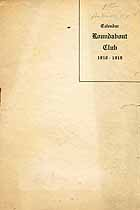 Thumbnail image of Roundabout Club 1918-1919 Calendar cover