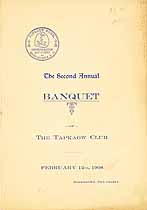 Thumbnail image of Tapkaow Club 2nd Annual Banquet cover