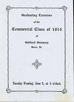 Thumbnail image of Goddard Seminary Commercial Class of 1914 cover