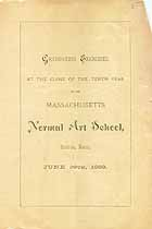 Thumbnail image of Massachusetts Normal Art School 1883 Graduation cover