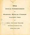 Thumbnail image of Starling Medical College 1902 Commencement cover