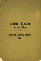 Thumbnail image of Portland Animal Refuge 2nd Annual Report cover