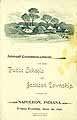 Thumbnail image of Public Schools of Jackson Township 1896 Commencement cover