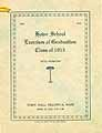 Thumbnail image of Howe School 1913 Graduation cover