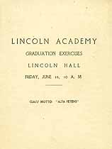 Thumbnail image of Lincoln Academy Graduation Exercises cover